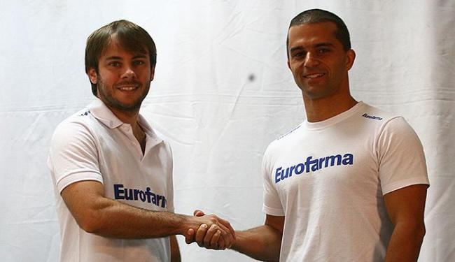 Ricardo Maurício (esquerda) e Max Wilson em visita à redação de A TARDE em 2013 - Foto: Fernando Amorim   Ag. A TARDE