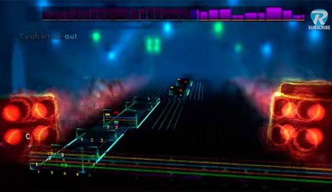Game é jogado com uma guitarra verdadeira - Foto: Divulgação