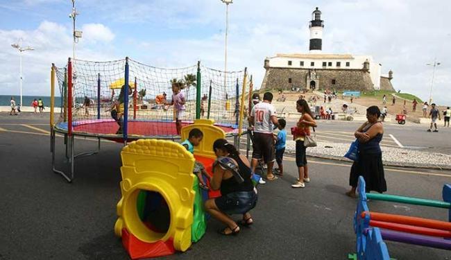 Ações ocorrem no Farol da Barra e no Engenho Velho de Brotas, das 8h ao meio-dia - Foto: Luciano da Matta   Ag. A TARDE