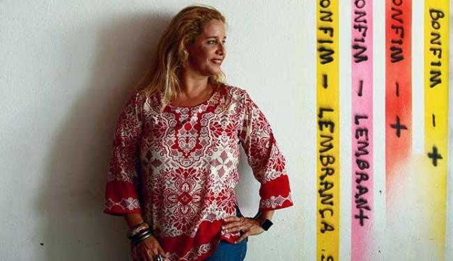 Sarajane é a convidada de Gerônimo na escadaria do Passo - Foto: Fernando Vivas | Ag. A TARDE