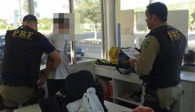O mandado de prisão é expedido pelo Tribunal de Justiça de São Paulo. - Foto: Foto / Divulgação PRF