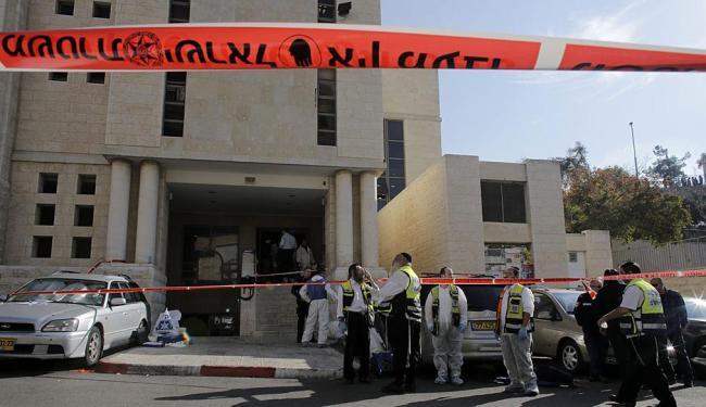 Sinagoga onde ocorreu o atentado na terça-feira, dia 19 - Foto: Agência Reuters