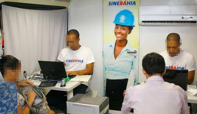 Atendimento irá cadastrar interessados nas 500 vagas disponíveis para operador de telemarketing - Foto: Foto: Guilherme Silva | Ascom SETRE