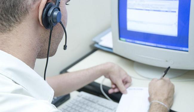 Função com maior número de ofertas é a de operador de telemarketing, com 600 vagas - Foto: Divulgação | CREA