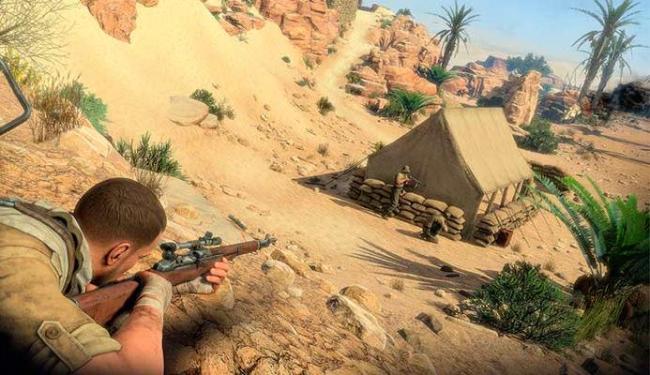 Jovem passou o tempo todo jogando Sniper Elite III - Foto: Divulgação
