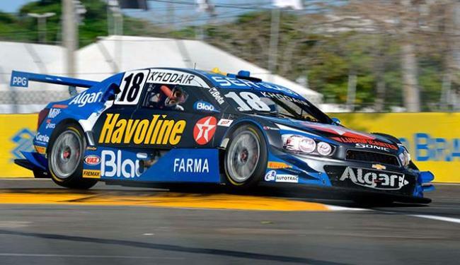 Khodair venceu a corrida 1 realizada na tarde deste sábado no CAB - Foto: Divulgação
