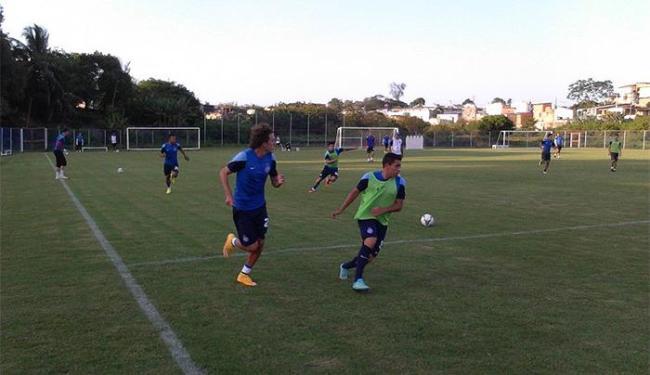 Técnico do Tricolor testou várias opções na equipe considerada titular - Foto: Divulgação l E.C. Bahia