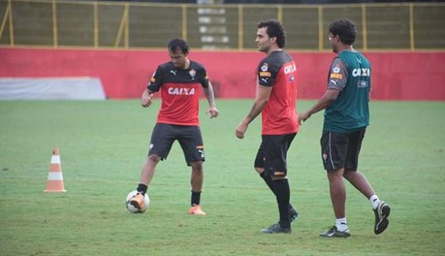 Jogadores treinaram na manhã desta sexta-feira no Barradão - Foto: Divulgação l E.C. Vitória