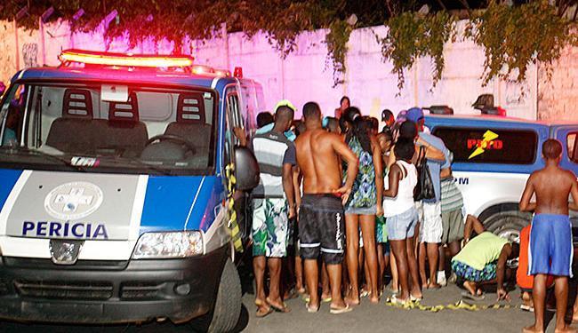 Os dados sobre homicídio estão no 8º Anuário Brasileiro de Segurança Pública - Foto: Edilson LIma   Ag. A TARDE