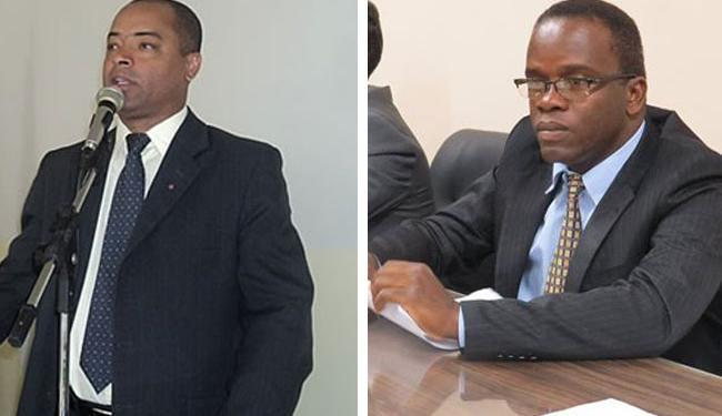 Uberdan Cardoso (E) e Cristiano Sena, ambos do PT, disputam a presidência da Casa - Foto: Fotos: Léo Sousa e Eliandson José | Divulgação
