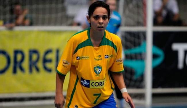 Vanessa foi eleita três vezes a melhor jogadora de futsal do mundo - Foto: Divulgação | CBFS