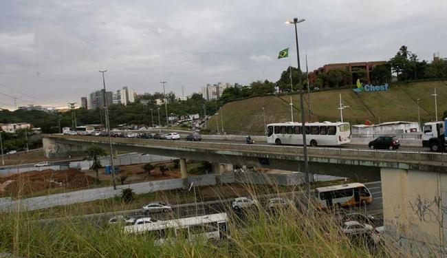 Viaduto passará a ter sentido único - Foto: Margarida Neide | Ag. A TARDE