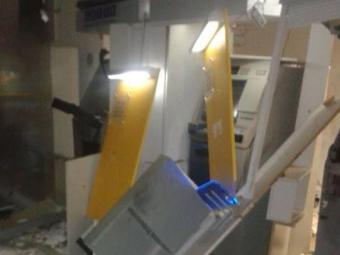 Assaltantes conseguiram fugir com dinheiro; quantia não foi revelada - Foto: Reprodução   Blog Braga