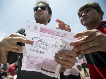 Mais de 6,2 milhões estudantes fizeram as provas em mais de 1,7 mil cidades - Foto: Agência Brasil