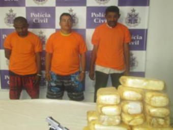 Apreensão de 1,6 tonelada de maconha foi a maior do ano na Bahia - Foto: Ascom | Polícia Civil
