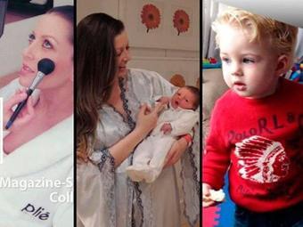 Atriz confirmou que é mãe do filho de Ceni - Foto: Reprodução | Facebook