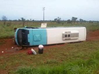 Acidente aconteceu a 35km do município de Luís Eduardo Magalhães - Foto: Reprodução | Blog Braga