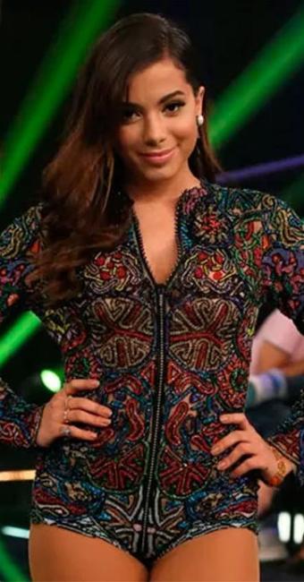 Anitta caprichou em look para programa - Foto: Reprodução | Globo