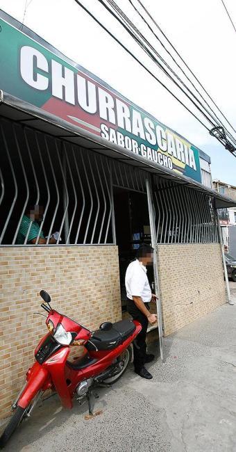 A churrascaria foi roubada no último dia 22 e, nesta terça, foi vítima pela segunda vez - Foto: Fernando Amorim   Ag. A TARDE