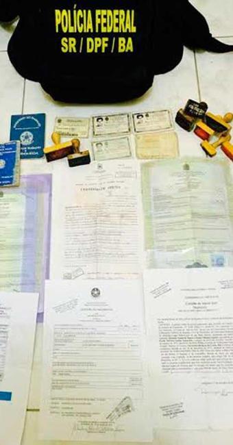 Prejuízo sofrido pelo INSS com as fraudes apuradas supera os R$ 700 mil - Foto: Divulgação   ASCOM Polícia Federal
