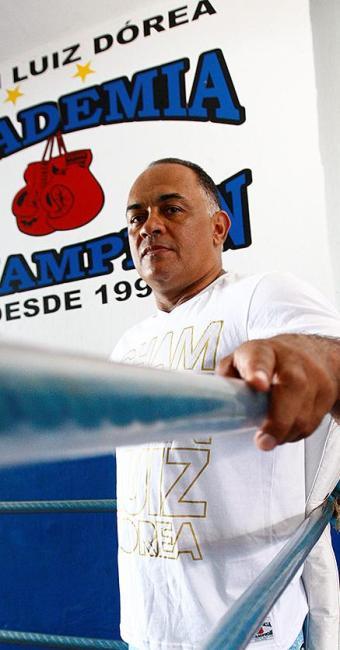 Luiz Dórea, treinador de boxe e MMA - Foto: Fernando Vivas | Ag. A TARDE