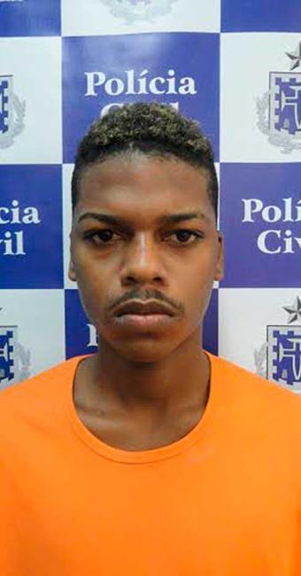 Tiago é acusado de atirar e matar o PM Diogo durante o assalto - Foto: Divulgação | Polícia Civil