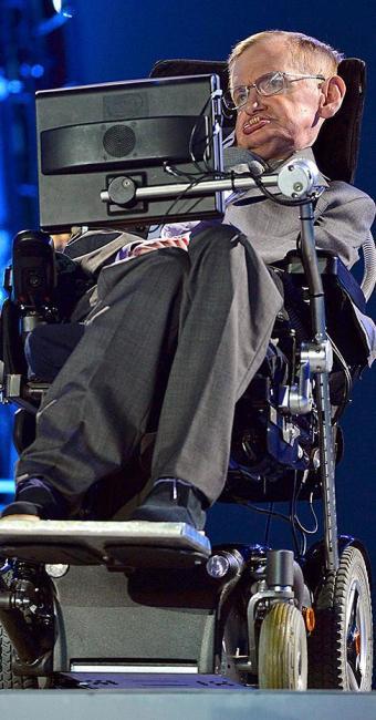 Físico tem doença degenerativa ELA (esclerose lateral amiotrófica) - Foto: Toby Melville   Reuters