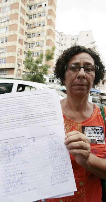 Vilma Mota elaborou abaixo-assinado para a prefeitura - Foto: Mila Cordeiro | Ag. A TARDE