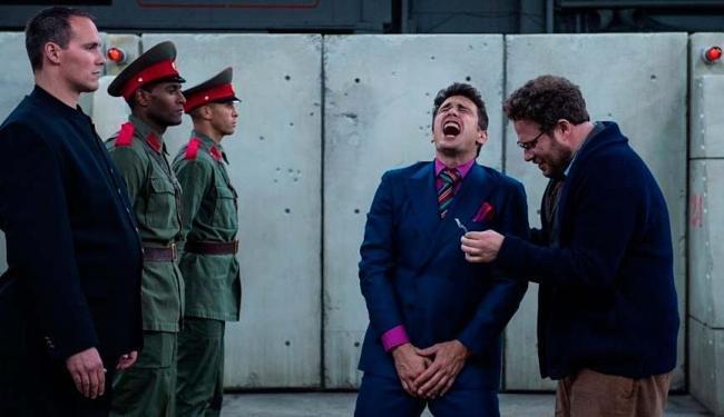 Filme narra um suposto complô da CIA para assassinar líder norte-coreano - Foto: Divulgação