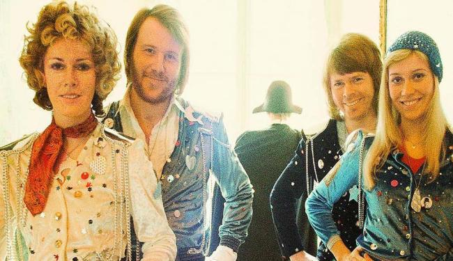 ABBA foi integrado por Benny Andersson, Anni-Frid