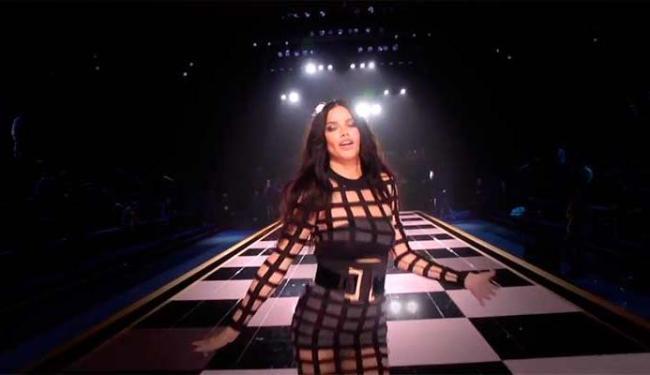 A baiana Adriana Lima aparece no vídeo - Foto: Reprodução