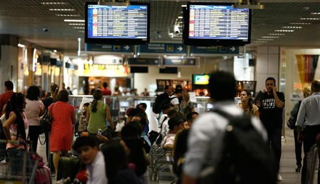 Aeroportos vão receber cerca de 20 milhões de passageiros no período - Foto: Raul Spinassé | Ag. A TARDE
