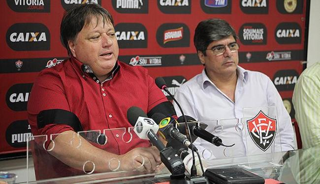 O diretor Anderson Barros foi contratado pela diretoria do Vitória para as temporadas 2015 e 2016 - Foto: Francisco Galvão l EC Vitória