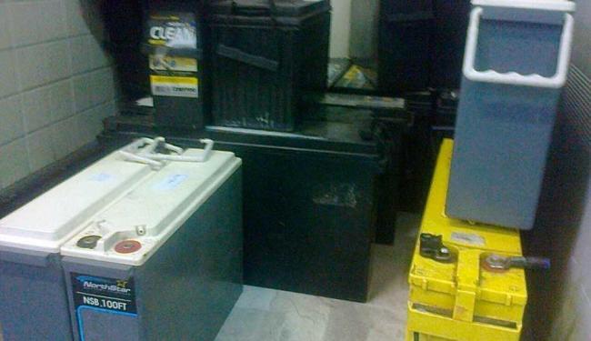 Baterias foram apreendidas durante campeonato de som em espaço para eventos na Av. Paralela - Foto: Divulgação | ASCOM Polícia Civil