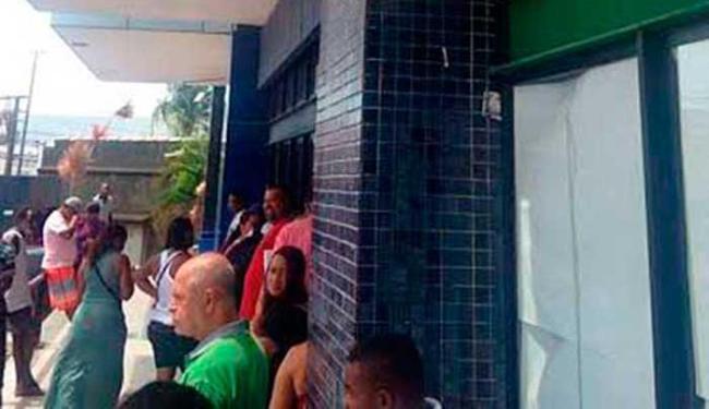 Unidade foi assaltada às 4h da madrugada de quinta-feira, 25 - Foto: Divulgação   DECOM/PMLF