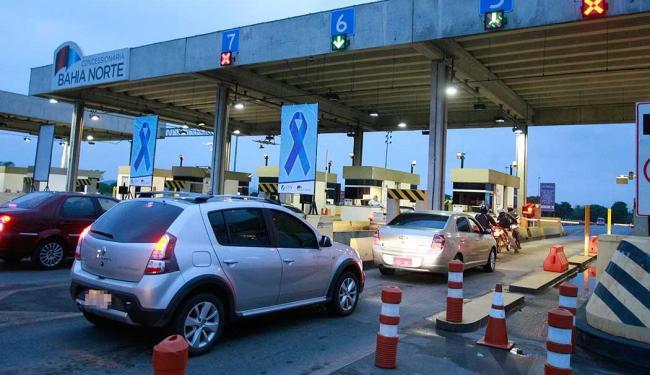 Obras serão interrompidas por conta do aumento do fluxo de veículos no final do ano - Foto: Joá Souza | Ag. A TARDE