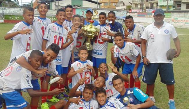 Time disputará o título de campeão nacional da Copa Redeball 2014 - Foto: Reprodução | E.C.Bahia