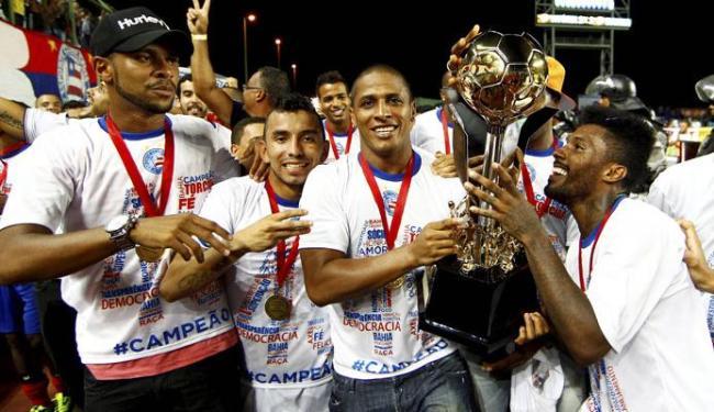 O campeão do ano passado foi o Bahia, que levou a melhor sobre o arquirrival Vitória - Foto: Eduardo Martins | Ag. A TARDE