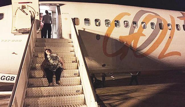 Katya sofre de doença genética e não aceitou ser carregada - Foto: Divulgação