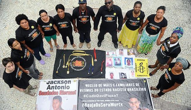 Familiares de jovens desaparecidos na Bahia denunciaram casos à entidade nesta sexta - Foto: Fernando Frazão l Ag. Brasil
