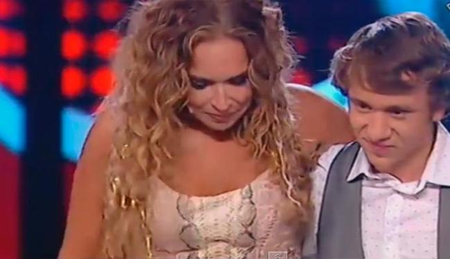 Cantora era jurada de Diogo Garcia, vencedor do programa - Foto: Reprodução   Youtube
