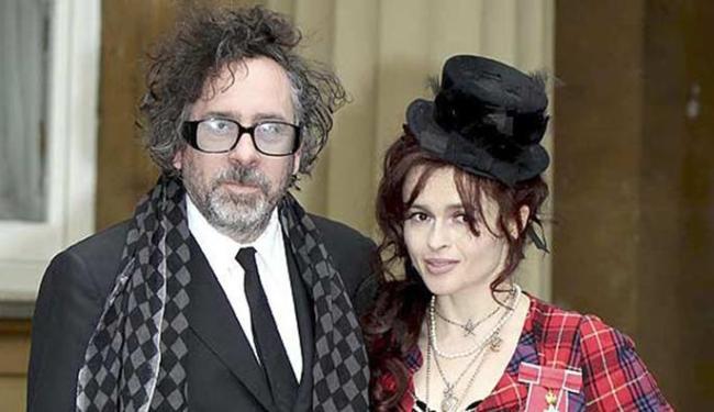 Helena e Tim Burton se conheceram durante as filmagens de