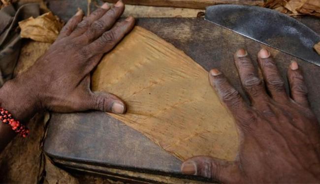 Charutos são o produto símbolo de Cuba desde a chegada de Cristóvão Colombo, em 1492 - Foto: Enrique De La Osa | Agência Reuters