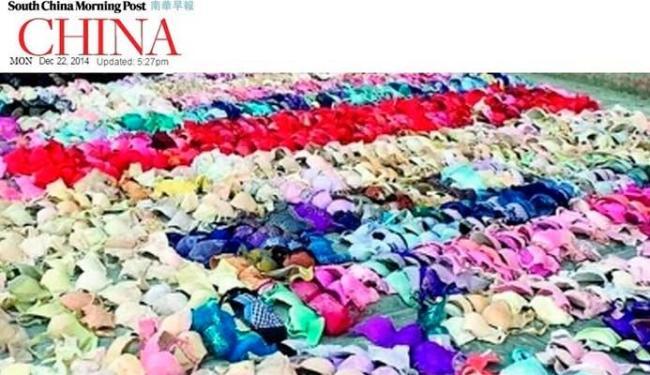 Chinês roubou diversas lingeries das vizinhas - Foto: Reprodução