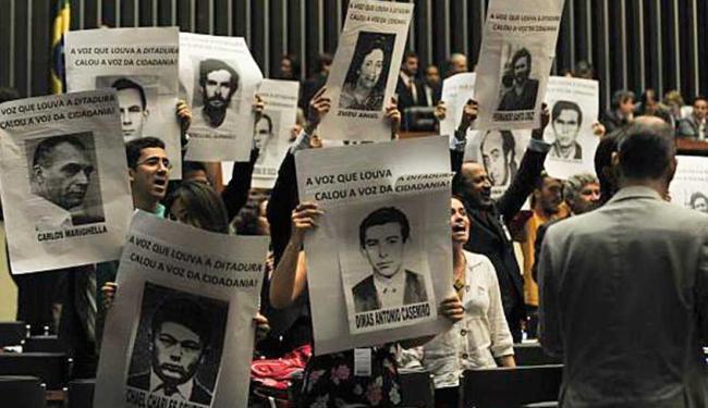 CNV confirma em relatório mais de 200 desaparecidos políticos durante a ditadura militar - Foto: Antonio Cruz | Agência Brasil