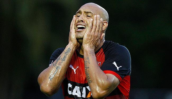Edno lamenta fracasso diante do Santos - Foto: Eduardo Martins | Ag. A TARDE