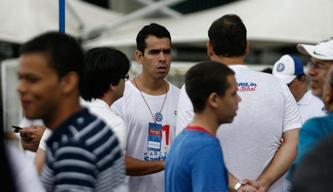 Marcelo Sant'Ana (no centro) foi eleito com 1.718 votos - Foto: Raul Spinassé | Ag. A TARDE