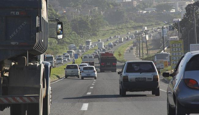 Número de acidentes caiu 50% em relação ao mesmo período do ano passado - Foto: Joá Souza | Ag. A TARDE