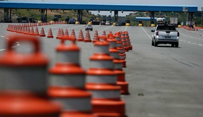 A tarifa passará de R$ 3,10 para R$ 3,40 para a categoria de veículo 1 nas praças de pedágio - Foto: Raul Spinassé   Ag. A TARDE