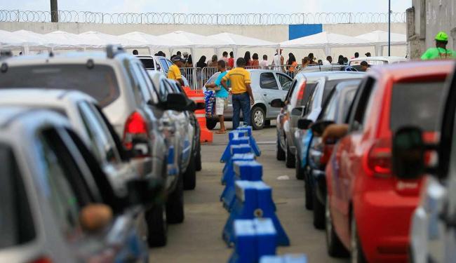 Internacional Marítima estima aumento de 14% no fluxo de passageiros no ferry esse ano - Foto: Joa Souza | Ag. A TARDE